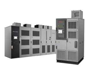 PowerFlex® 6000 Medium Voltage AC Drives | New and retrofit, variable and constant torque applications – fans, pumps, compressors, conveyors and mills | Motor control applications from 100 kW to 11,000 kW (190 Hp to 14,600 Hp) for motors rated 2.3...11 kV and input voltages up to 13.8 kV