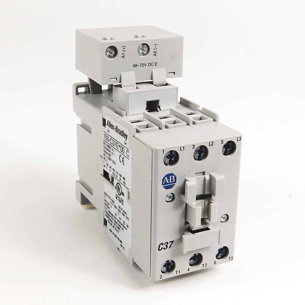 A-B 100-C37D10 IEC 37 A Contactor