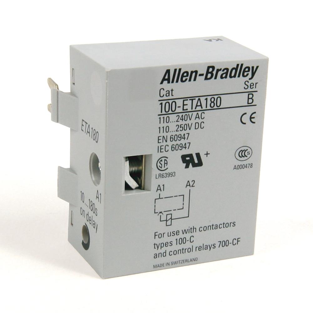 A-B 100-ETA180 100C 180 s Electronic Timing Module