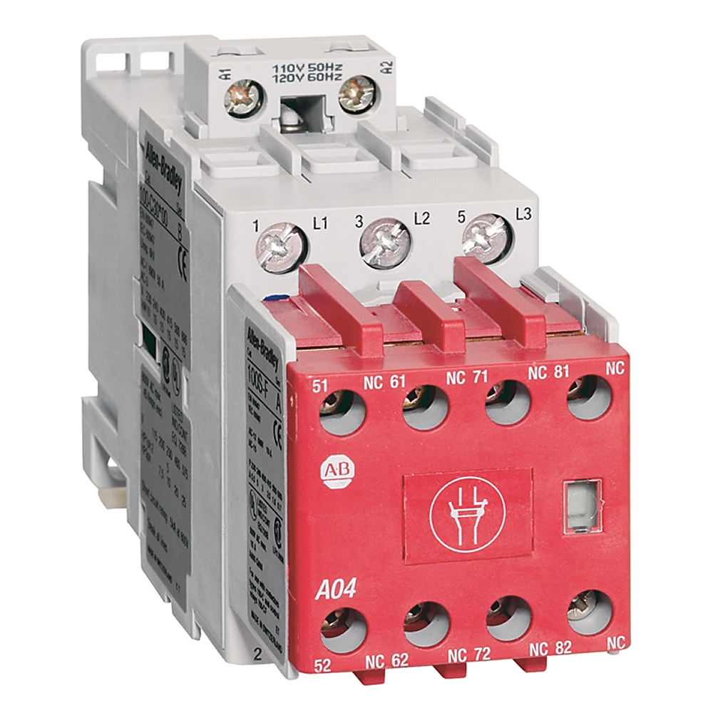 A-B 100S-C30D14C 30 A Safety Contactor