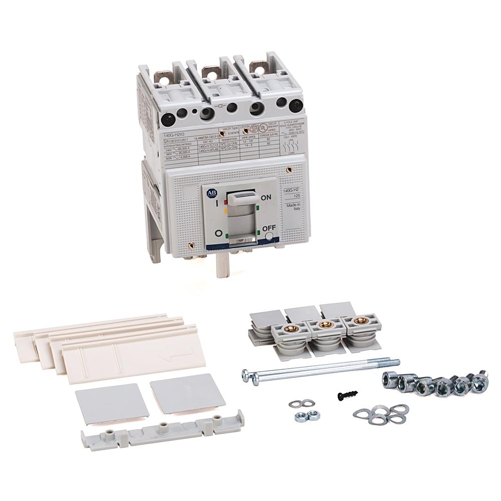 A-B 140G-H2I3-C60 140G 125A H Frame Molded Case Ckt-Bkr