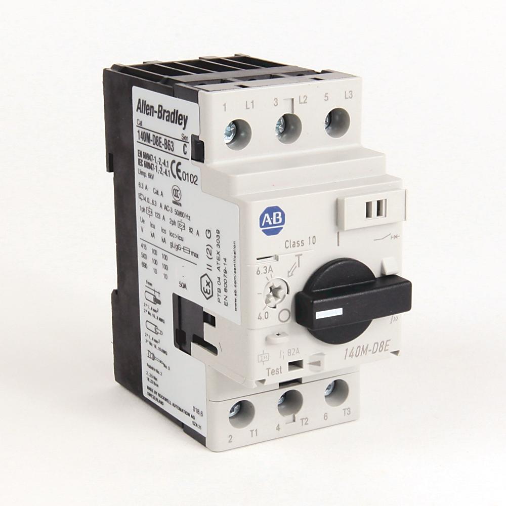 A-B 140M-D8E-B63 Mtr Prt Circuit Breaker Circuit-Breaker