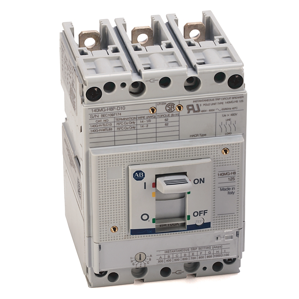 140MG Motor Circuit Protector & Motor Protection Circuit Breaker ...