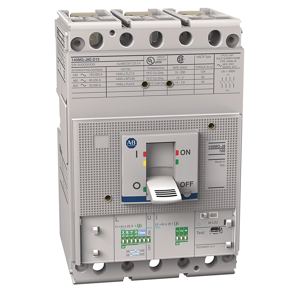 A-B 140MG-J8E-D15 140MG 150A J Frame Mtr Protection Ckt-Br
