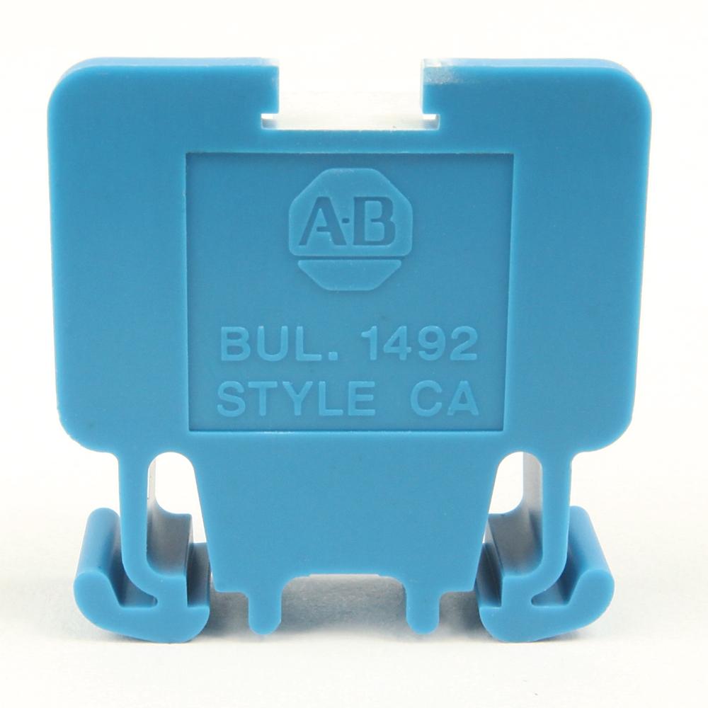 A-B 1492-CA1L Term Block Rail MTD 1P 55A Lg SCR WHT