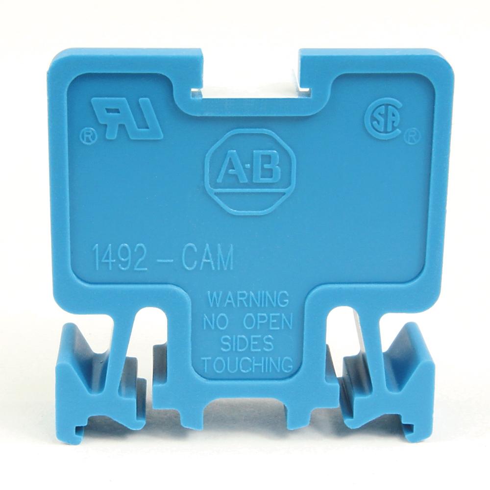 A-B 1492-CAM1L Term Block MULTI-Rail MTD 1P 55A WHT