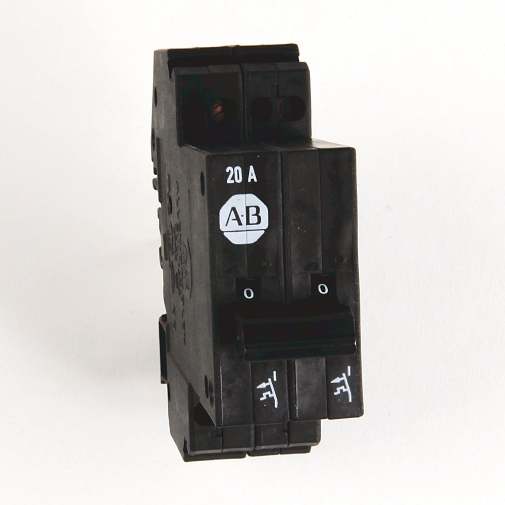 A-B 1492-GS2G200 High Density 20 A MCB/Supp. Protector
