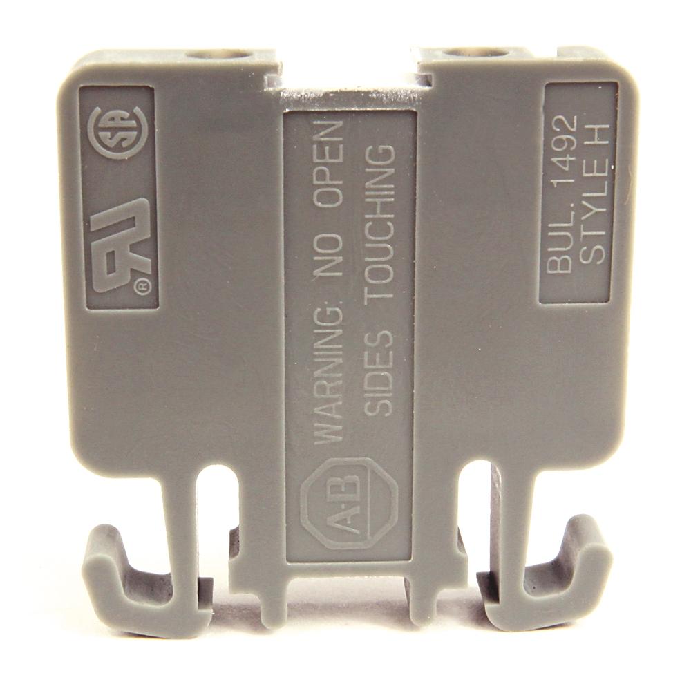 A-B 1492-H1 Term Block Rail MTD 1P 30A WHT