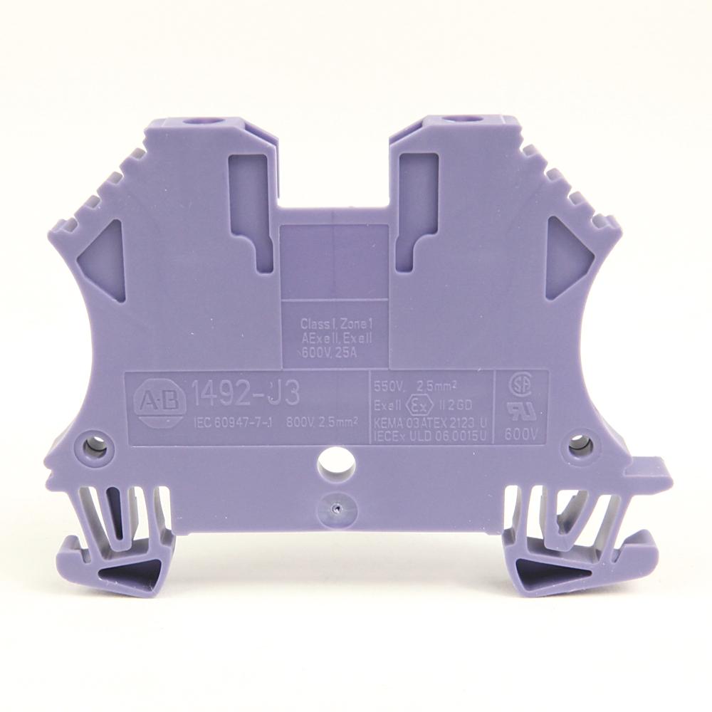 A-B 1492-J3-G 2.5 square mm Standard Terminal Block