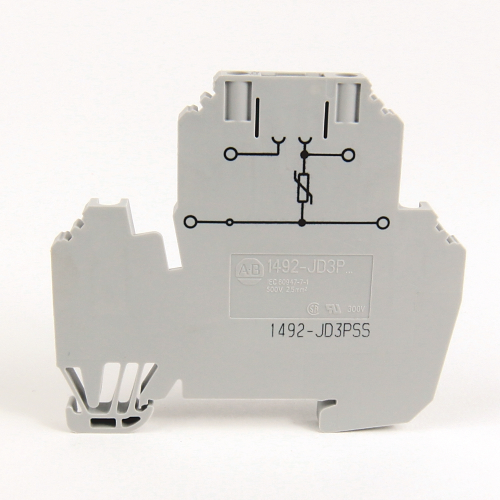 A-B 1492-JD3P 2.5 square mm Double Level Plug-In Block