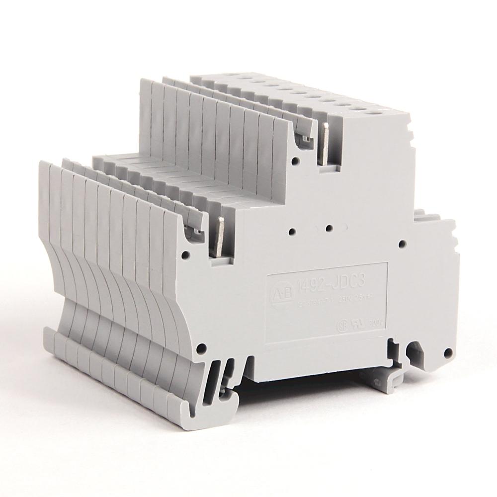 A-B 1492-JDC3 IEC 2-Ckt Plug-In Comb Conn Blk 2.5mm