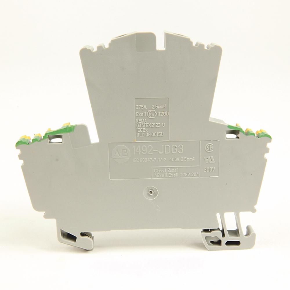 A-B 1492-JDG3FB 2.5 square mm Double Level Fuse Block