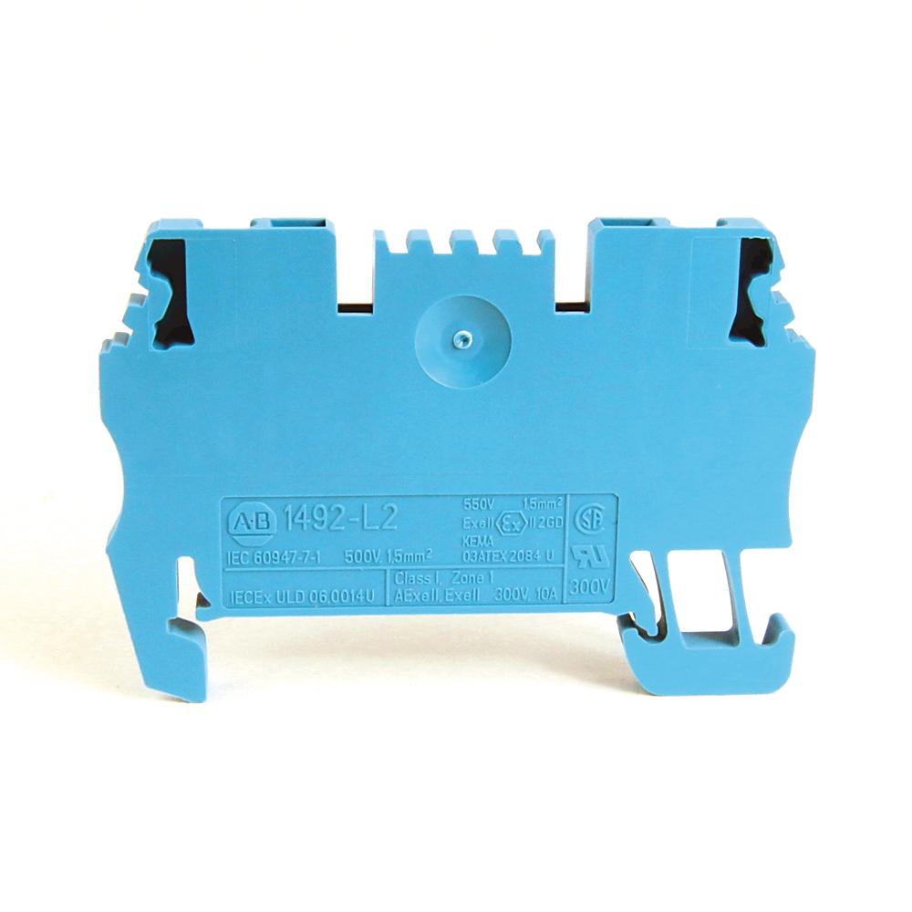 A-B 1492-L2 IEC Term Block 3.5x51.5x29.5mm Spr Clp