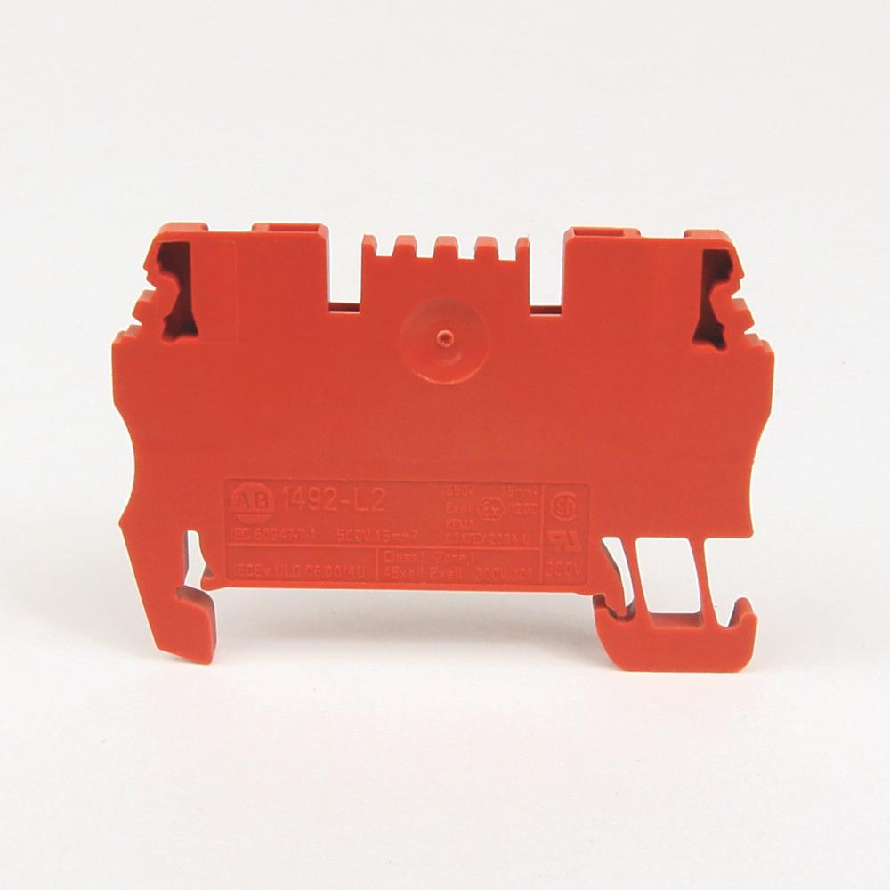 A-B 1492-L2-RE IEC Term Block 3.5x51.5x29.5mm Spr Clp