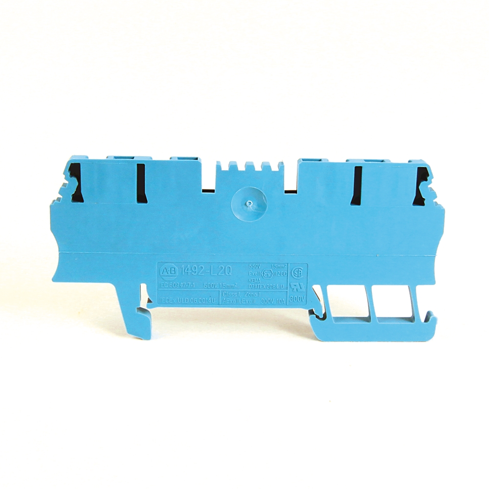 A-B 1492-L2Q IEC Term Block 3.5x75x29.5mm Spr Clp