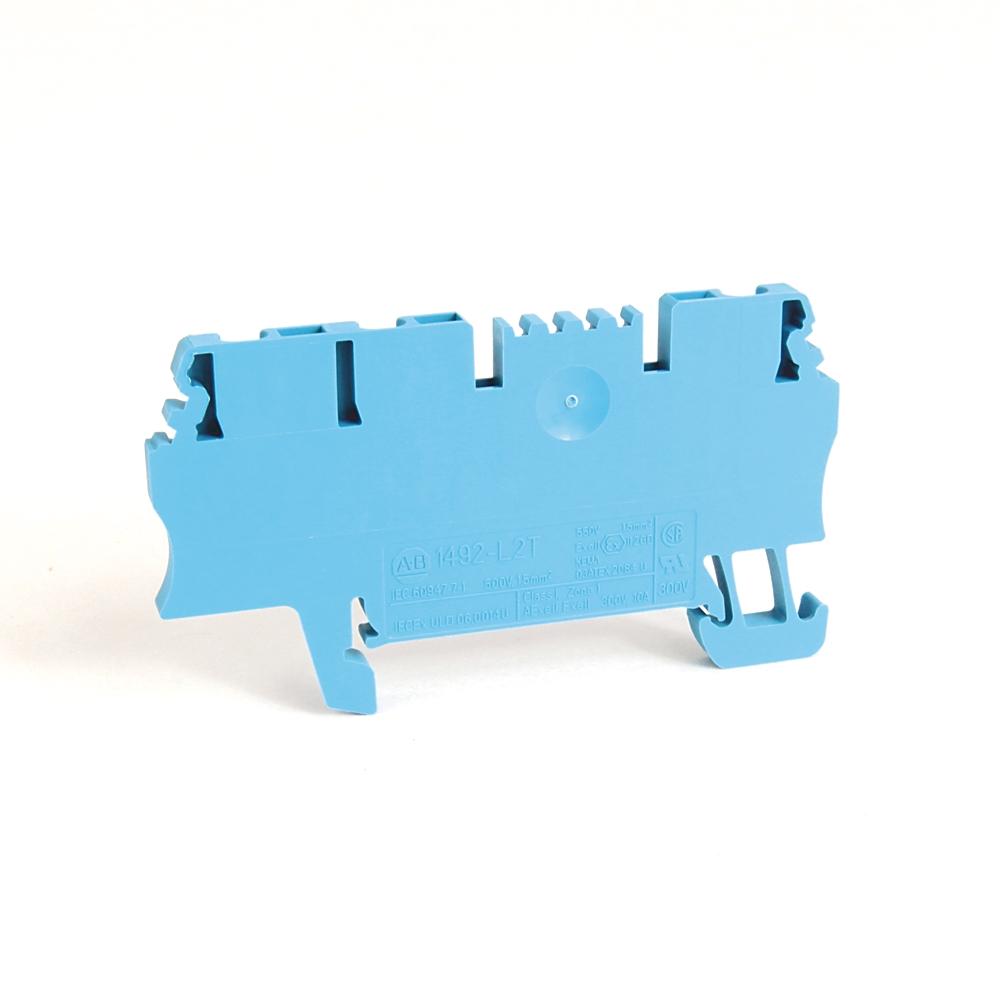 A-B 1492-L2T IEC Term Block 3.5x63x29.5mm Spr Clp