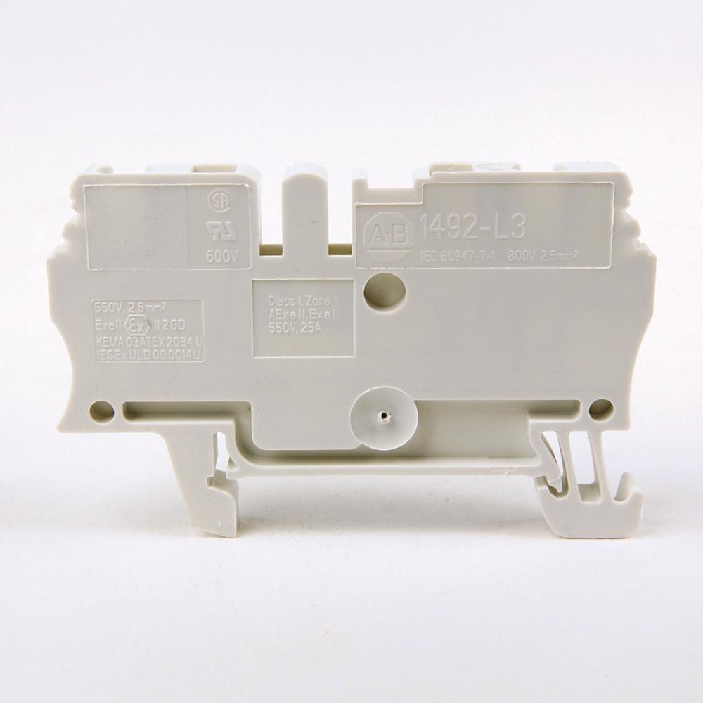 A-B 1492-L3-RE IEC Term Block 5.1x59.5x31.3mm Spr Clp