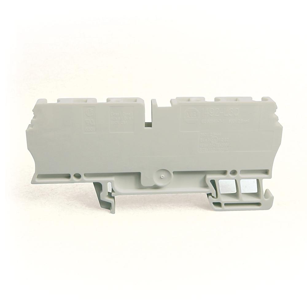 A-B 1492-L3Q-W IEC Term Block 5.1x79x31.3mm Spr Clp