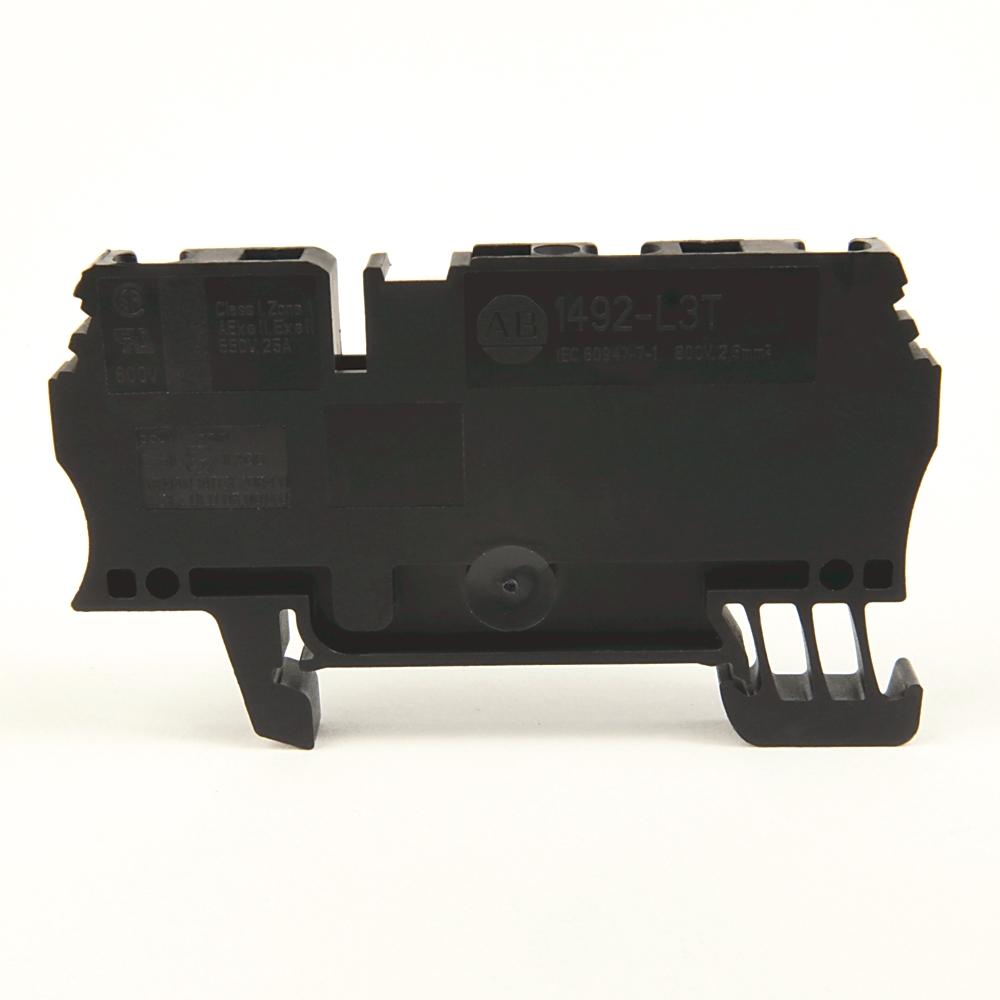 A-B 1492-L3T-BL IEC Term Block 5.1x64.5x31.3mm Spr Clp