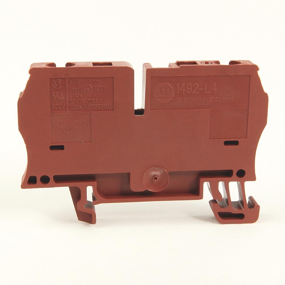 A-B 1492-L4-B IEC Term Block 6.1x62x35.7mm Spr Clp