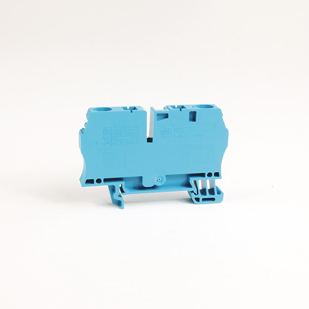 A-B 1492-L6 IEC Term Block 8.1x65x38mm Spr Clp