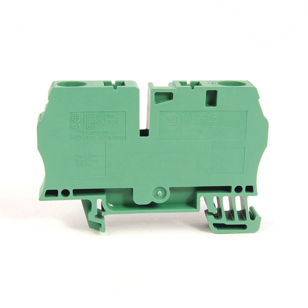 A-B 1492-L6-G IEC Term Block 8.1x65x38mm Spr Clp