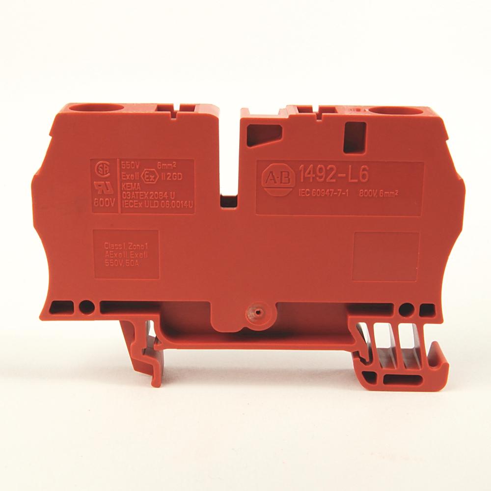 A-B 1492-L6-RE IEC Term Block 8.1x65x38mm Spr Clp