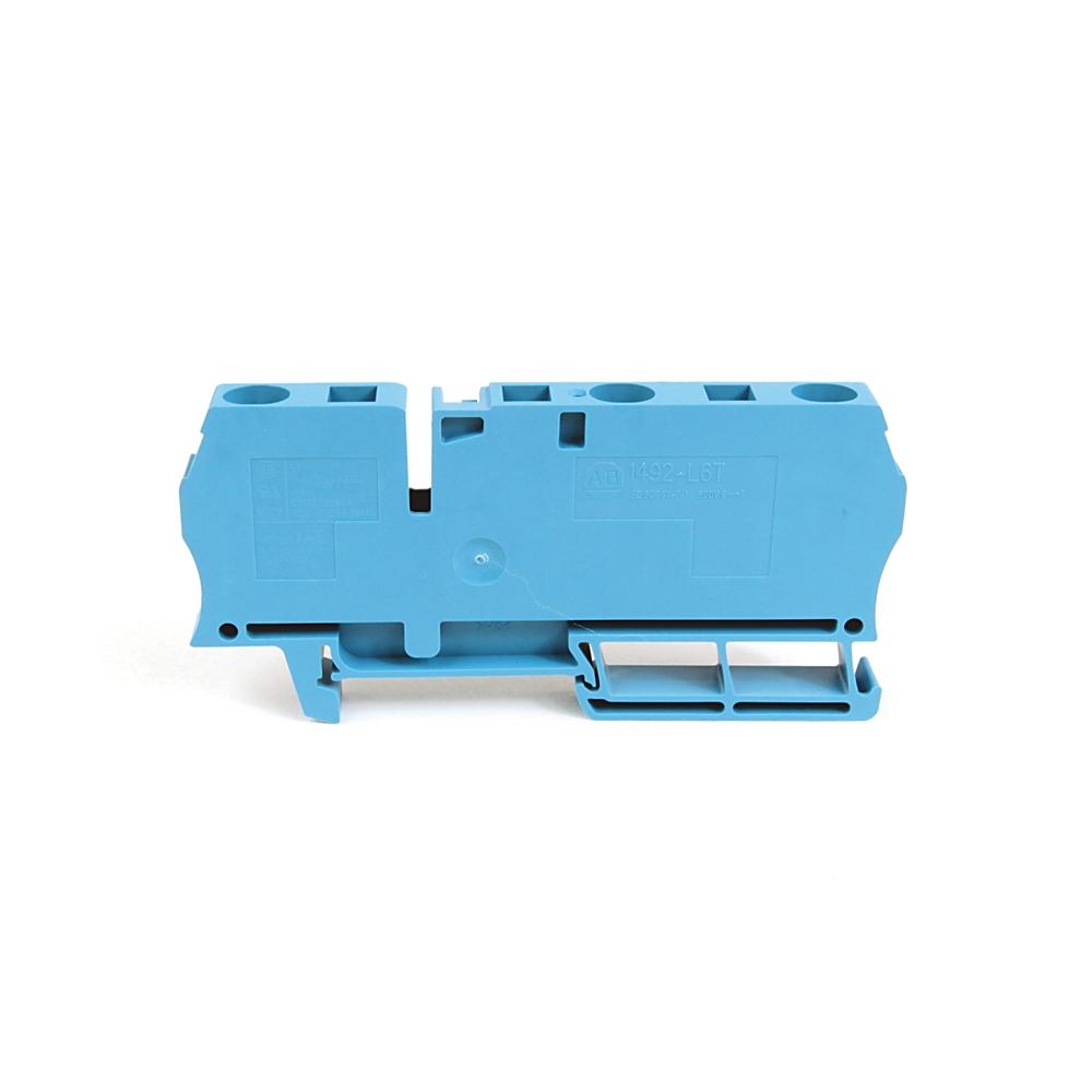 A-B 1492-L6T IEC Term Block 8.1x90x38mm Spr Clp