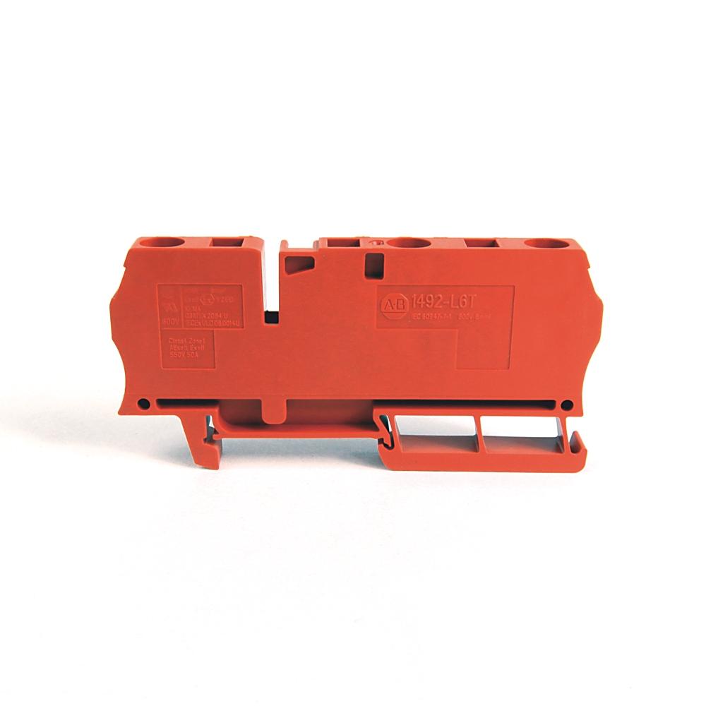 A-B 1492-L6T-RE IEC Term Block 8.1x90x38mm Spr Clp