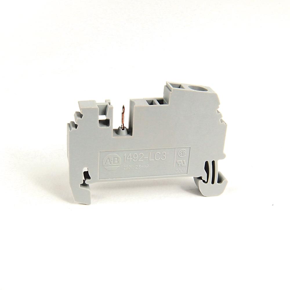 A-B 1492-LC3 IEC Term Block 5.1x46x26.9mm Spr Clp