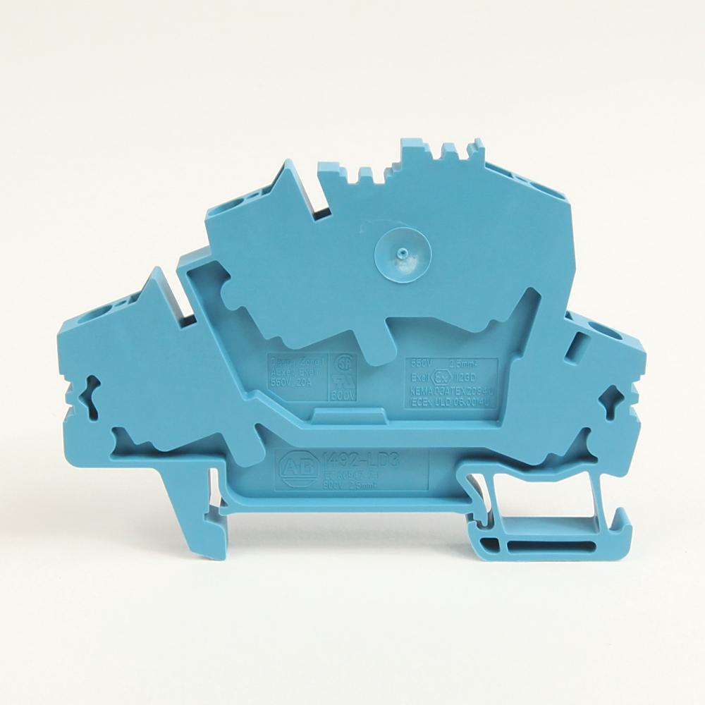 A-B 1492-LD3-B IEC Term Block 5.1x72.5x47.5mm Spr Clp