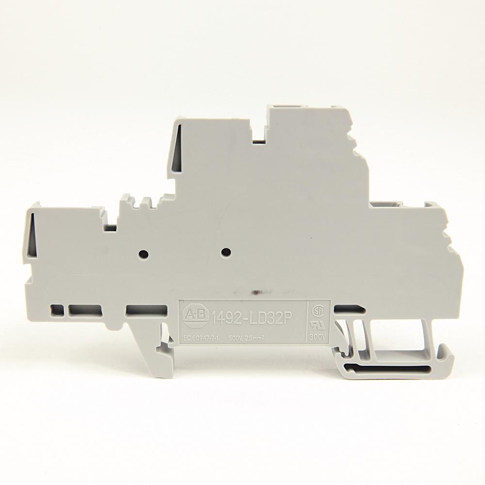 A-B 1492-LD3 IEC Term Block 5.1x72.5x47.5mm Spr Clp