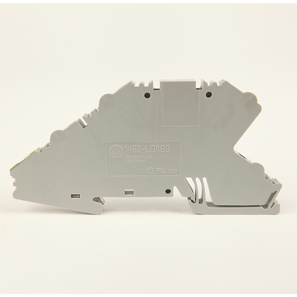 A-B 1492-LDAG3 IEC Term Block 5.1x95x41mm Spr Clp