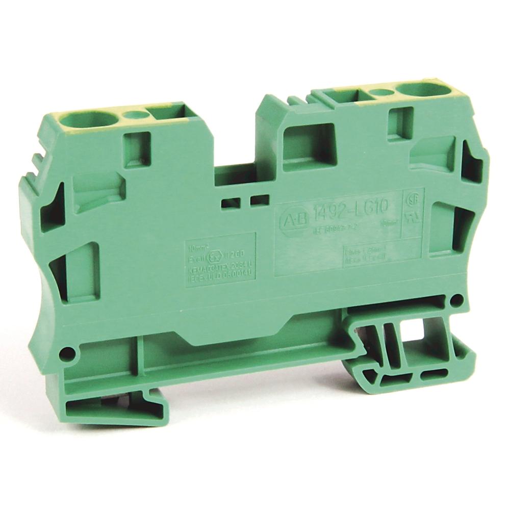 A-B 1492-LG10 IEC Term Block 10.1x73.5x42.5mm Spr Clp