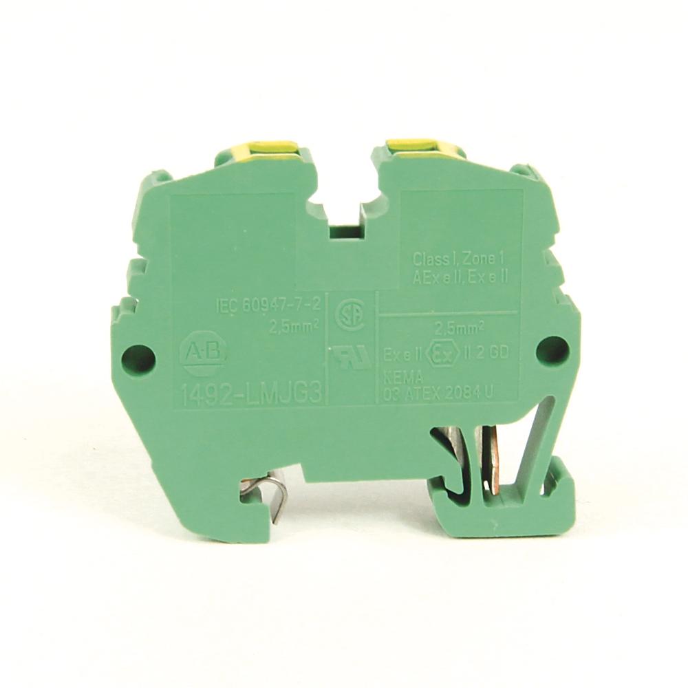 A-B 1492-LMJG3 IEC Mini Rail 5.1x35.5x23.7mm Spr Clp