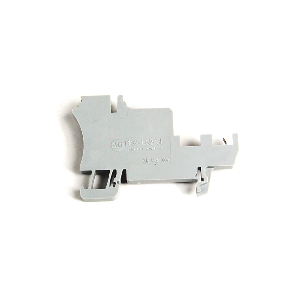 A-B 1492-LS2-3 IEC Sensor Block 5.1x68x38.5mm Sprng Clip