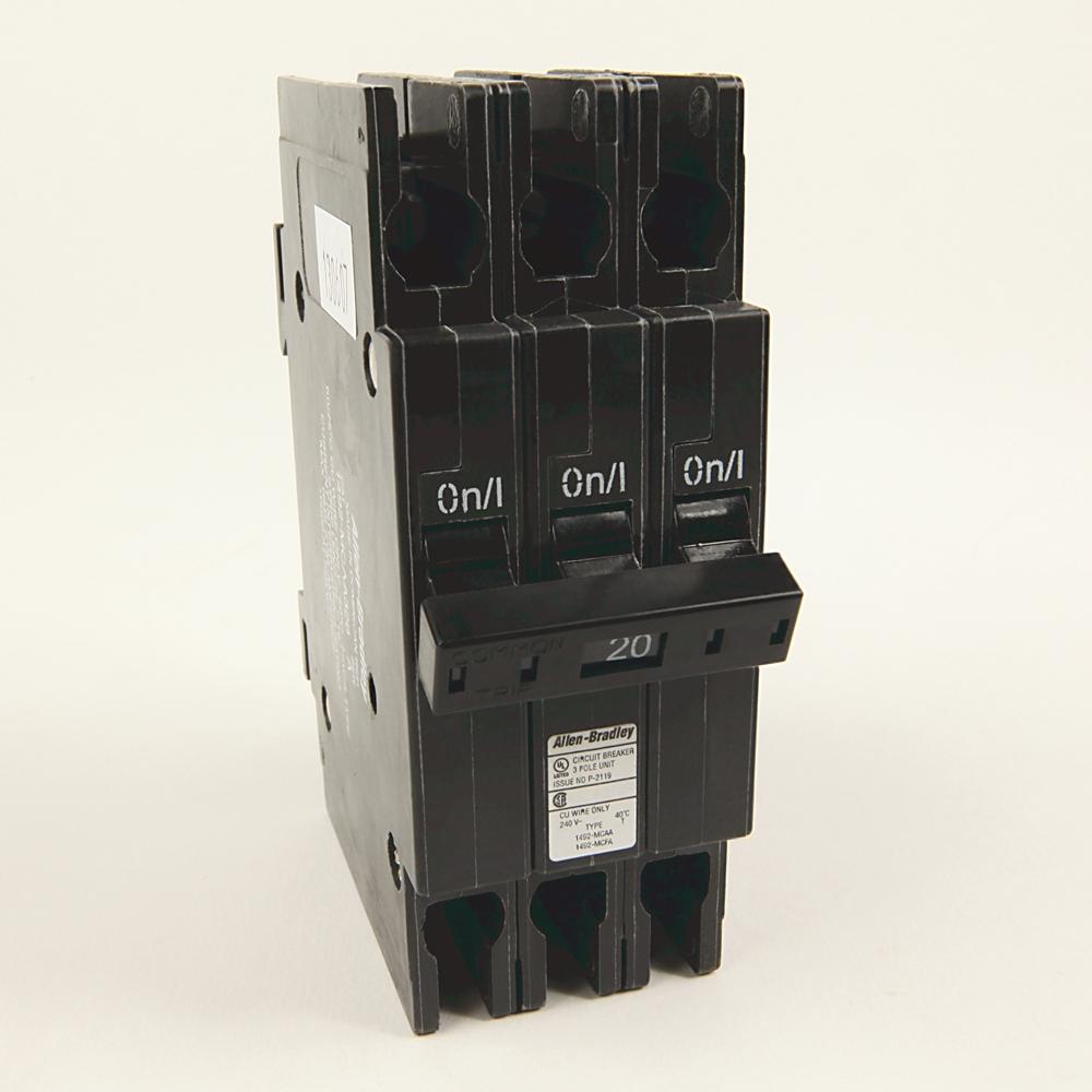 A-B 1492-MCAA320 20 A UL489 Miniature Circuit Breaker