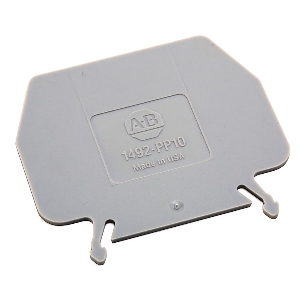 A-B 1492-PP10 IEC Term Block 1.5x55x46 mm Partition Plt
