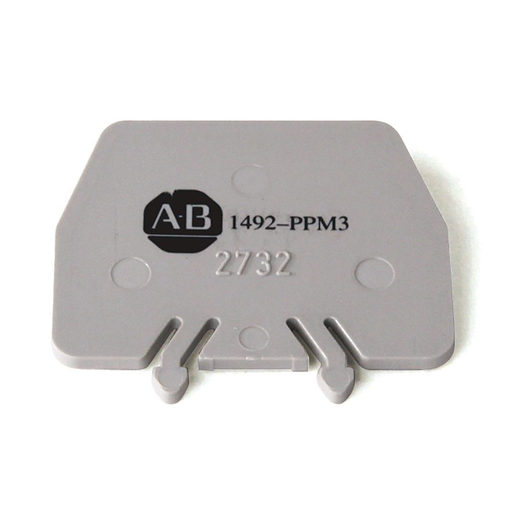 A-B 1492-PPM3 IEC Term Block 2x40x30.5 mm Partition Plt