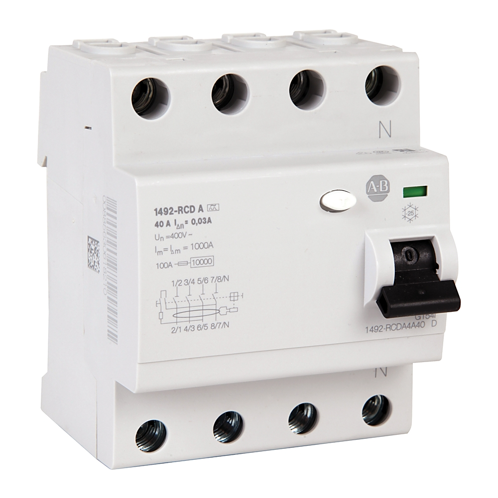 A-B 1492-RCDA4C63 Residual Current Device 63 A