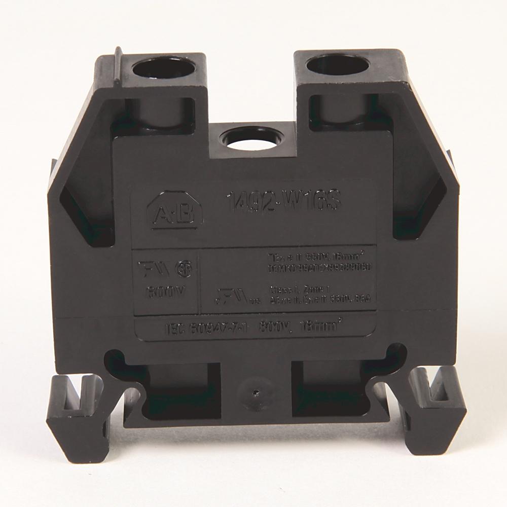 A-B 1492-W16S-BL IEC Term Block 8x47.6x41mm Screw