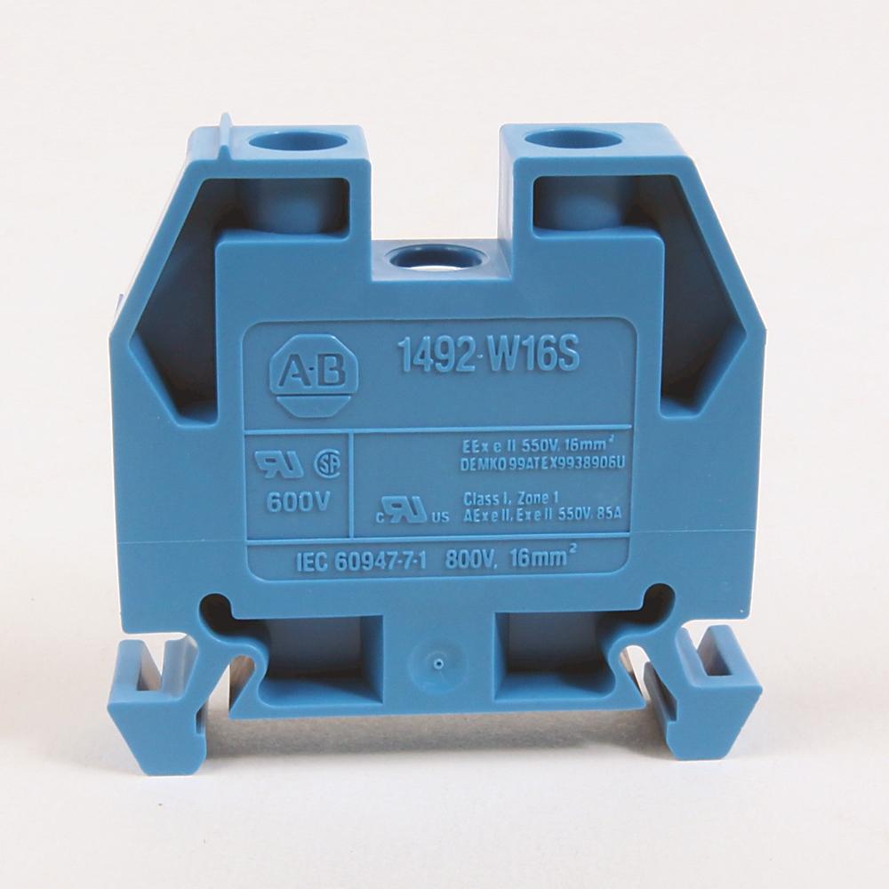 A-B 1492-W16S-RE IEC Term Block 8x47.6x41mm Screw