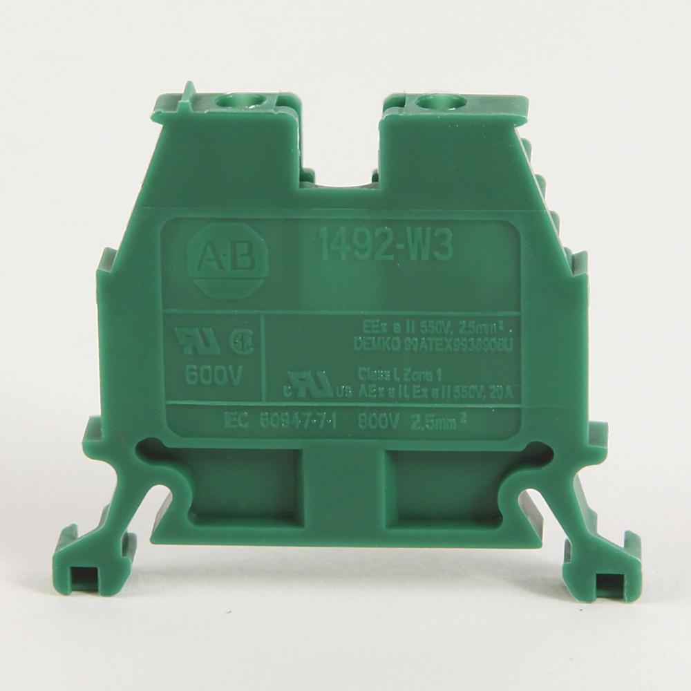 A-B 1492-W3-RE IEC Term Block 8x47.6x41mm Screw