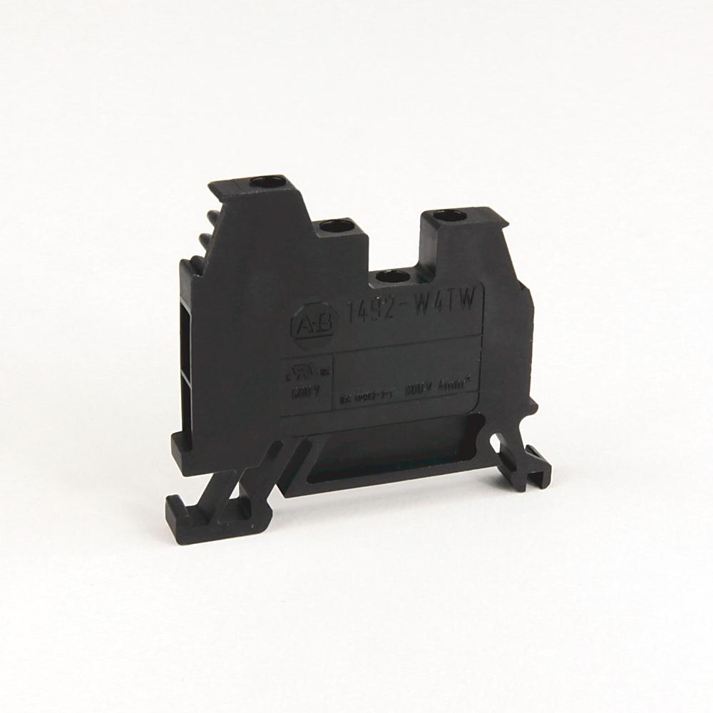 AB 1492-W4TW-BL IEC Term Blck8x47.6x41mm Screw