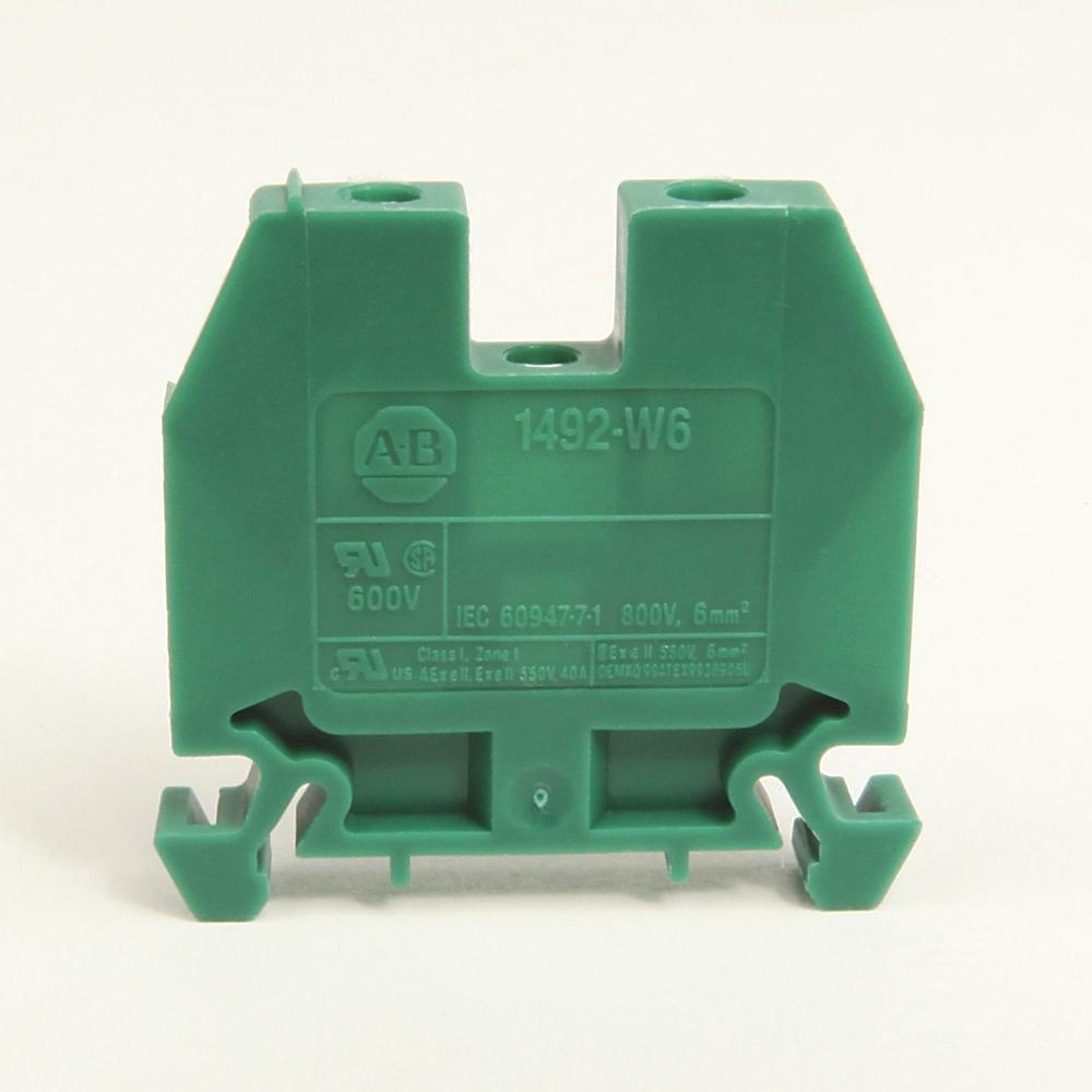 A-B 1492-W6 IEC Term Block 8x47.6x41mm Screw