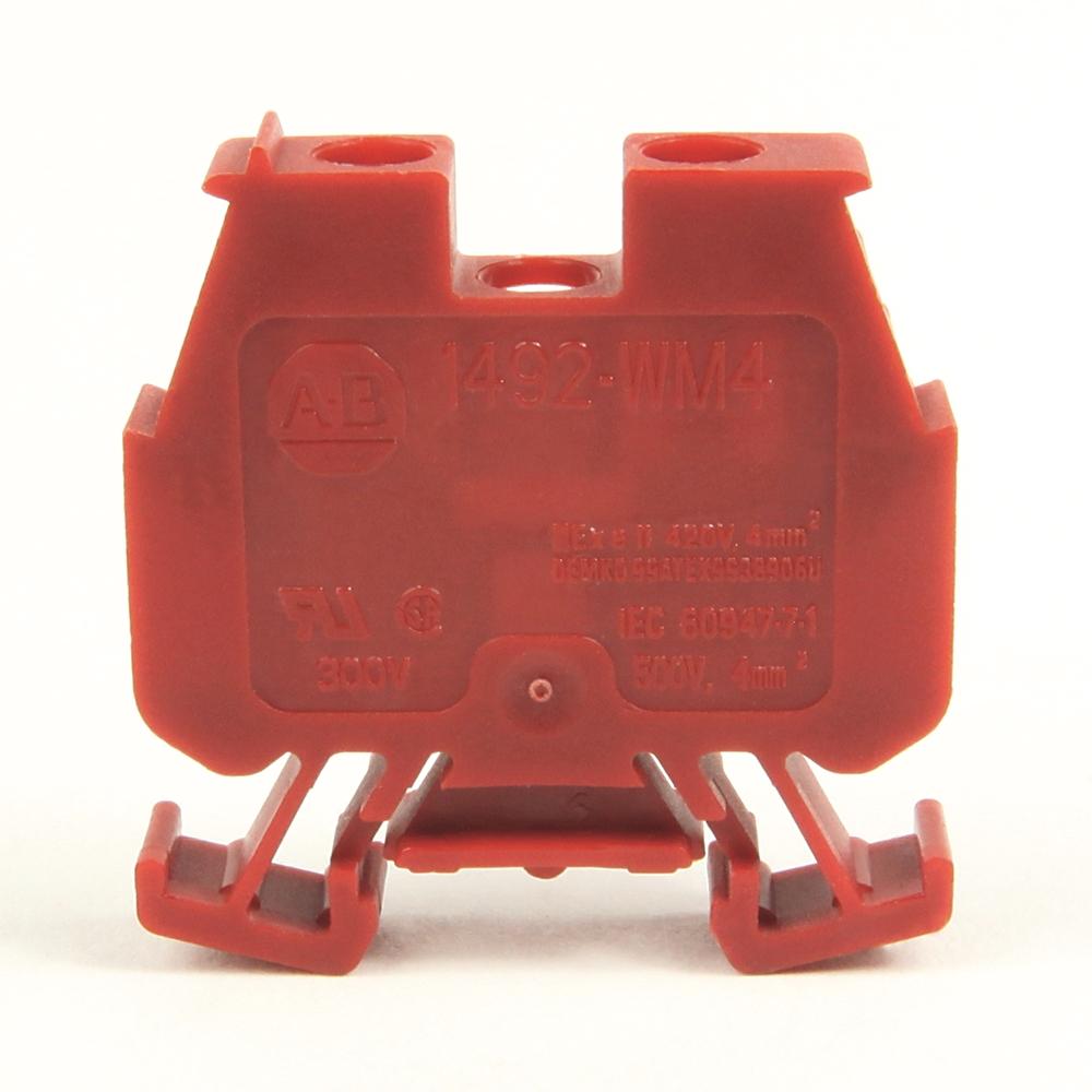A-B 1492-WM4-RE IEC Term Block 8x47.6x41mm Screw