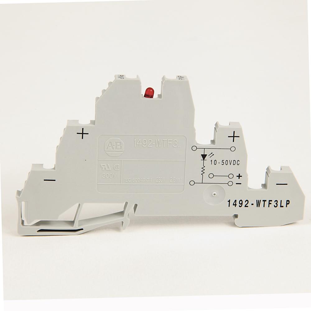 A-B 1492-WTF3LP IEC Term Block 8x47.6x41mm Screw