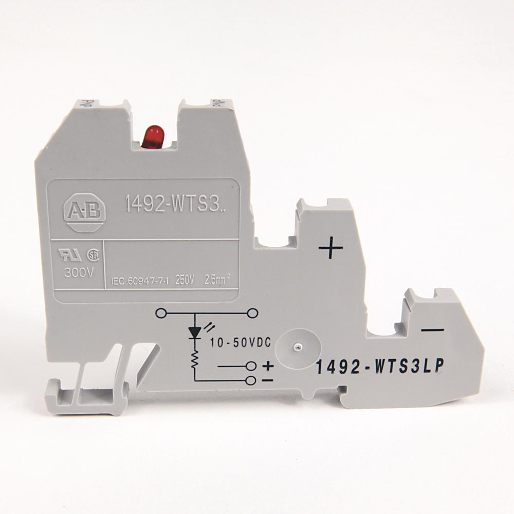 A-B 1492-WTS3LP IEC Term Block 8x47.6x41mm Screw