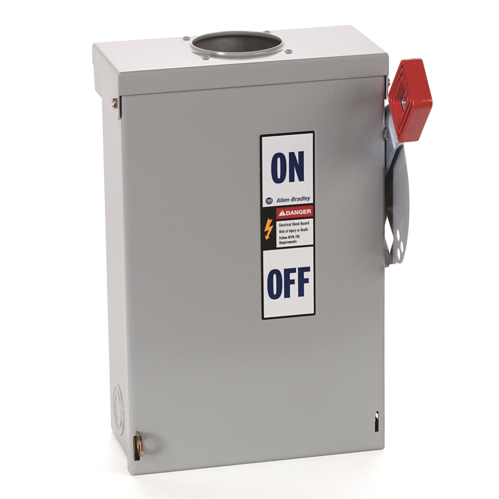A-B 1494H-BN3H6 Heavy Duty Fusible Safety Discon Switch