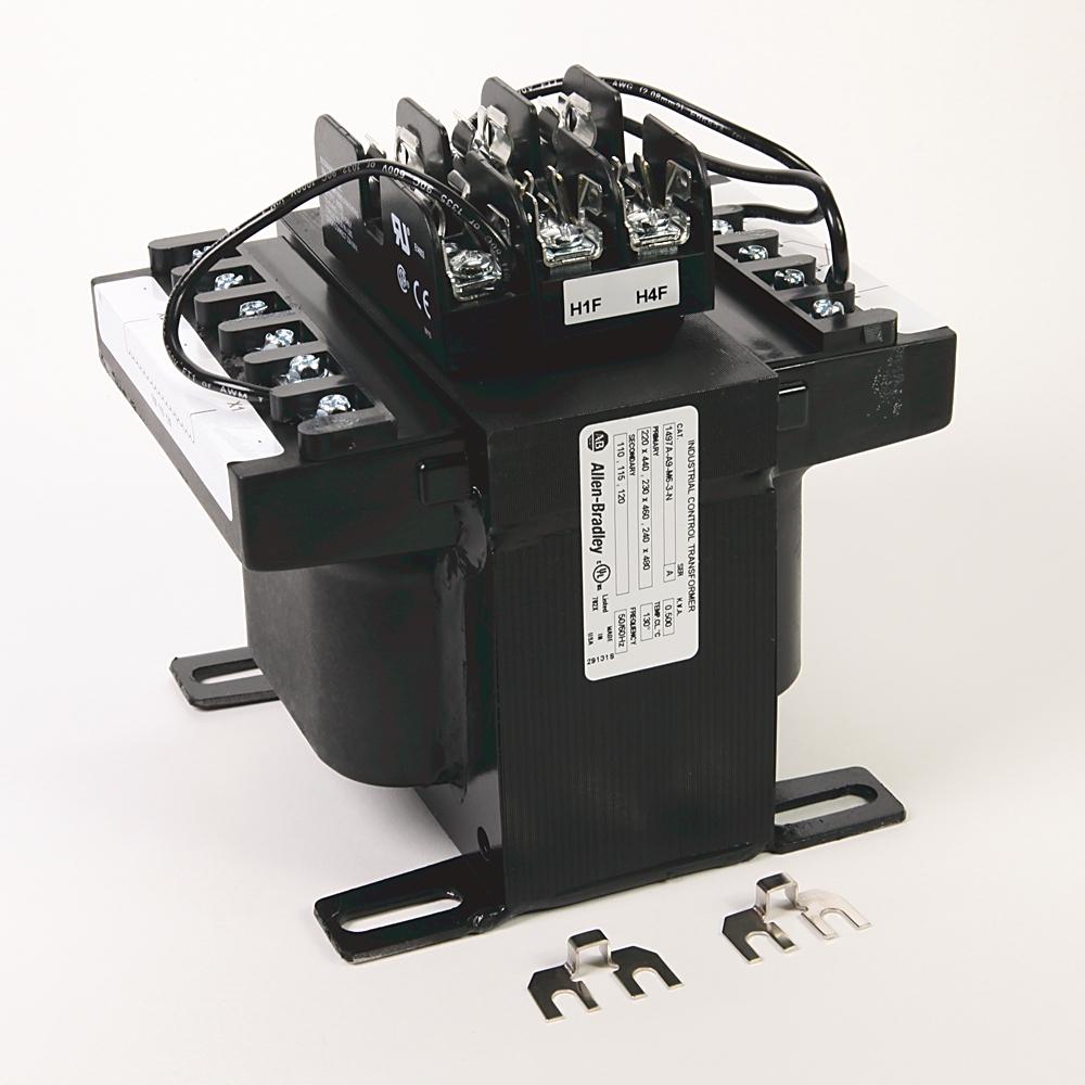 A-B 1497A-A9-M6-3-N 500VA 220x440-120V 60Hz w/Fuses CPT